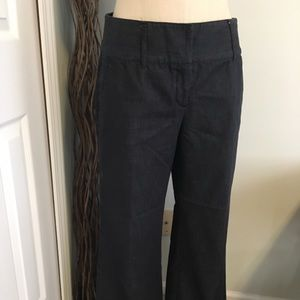 Wide leg jeans dark wash